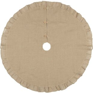 Jute Burlap Tree Skirt
