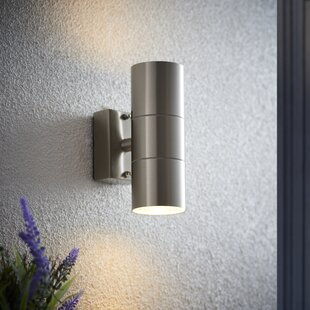 Up and down outdoor lights wayfair canon 2 light outdoor sconce aloadofball Images