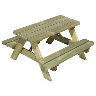 Abarca Pine Children's Picnic Table By Sol 72 Outdoor