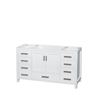 Sheffield 60 Single Bathroom Vanity Base Only By Wyndham Collection