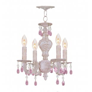 Top Reviews Odessa 4-Light Candle Style Chandelier By Viv + Rae
