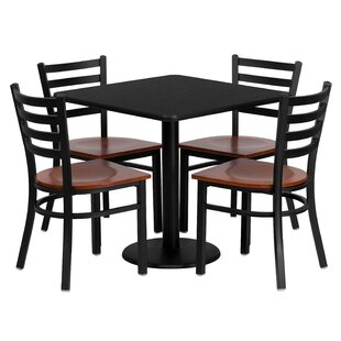 Sumit 5 Piece Dining Set Red Barrel Studio
