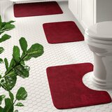 Red Bathroom Rugs Free Shipping Over 35 Wayfair