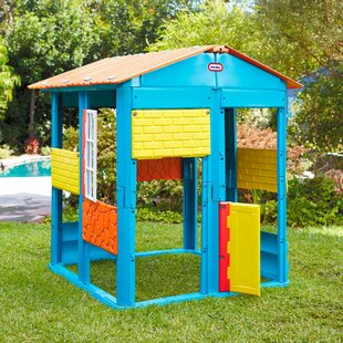 3.8' X 3.8' Playhouse By Little Tikes