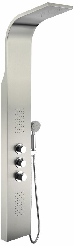Arc Fixed Shower Head Shower Panel