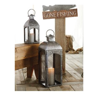 Affordable Price Tin 2 Piece Metal Lantern Set By Mud Pie™