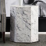 Melange Naples Accent Table