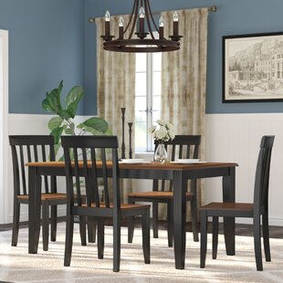 Hardcastle 5 Piece Dining Set by Three Posts