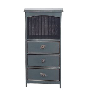 Karval 3 Drawer Accent Chest by August Grove