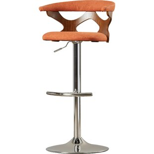 Altigarron 32.5 Adjustable Swivel Bar Stool by Langley Street New Designt