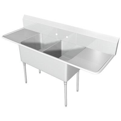 104 x 255 Free Standing Service Sink IMC Teddy
