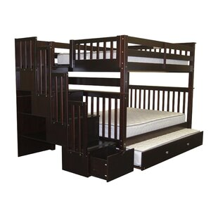 Tena Full over Full Bunk Bed with Trundle by Harriet Bee