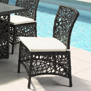 Baur Patio Dining Chair with Cushion