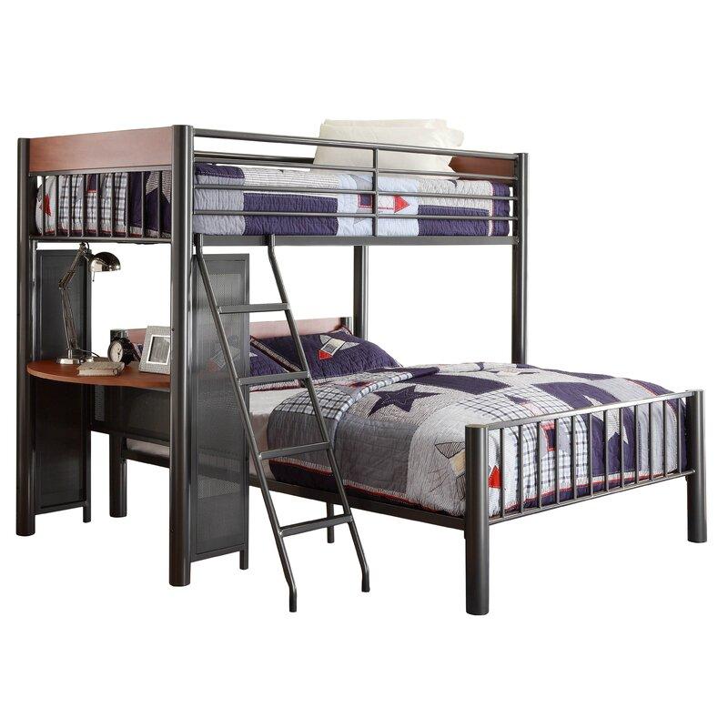 Harriet Bee Twyla Twin Over Full L Shaped Bunk Bed Wayfair