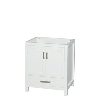 Sheffield 30 Single Bathroom Vanity Base by Wyndham Collection