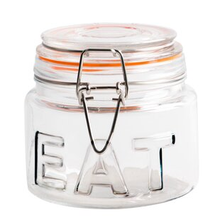 Eat Bail and Trigger Canning Jar