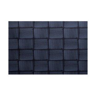 Uriarte Geometric Print Blue Indoor/Outdoor Area Rug by Wrought Studio
