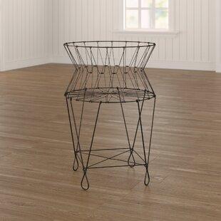 French Wire Laundry Basket Wayfair