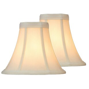 Comparison 6 Fabric Bell Lamp Shade (Set of 2) By August Grove