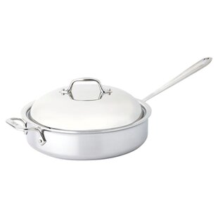 D3 4 Qt. Saute Pan with Domed Lid
