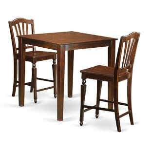 Neven 3 Piece Pub Table Set