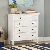 Harrison 4 Drawer Chest by Beachcrest Home
