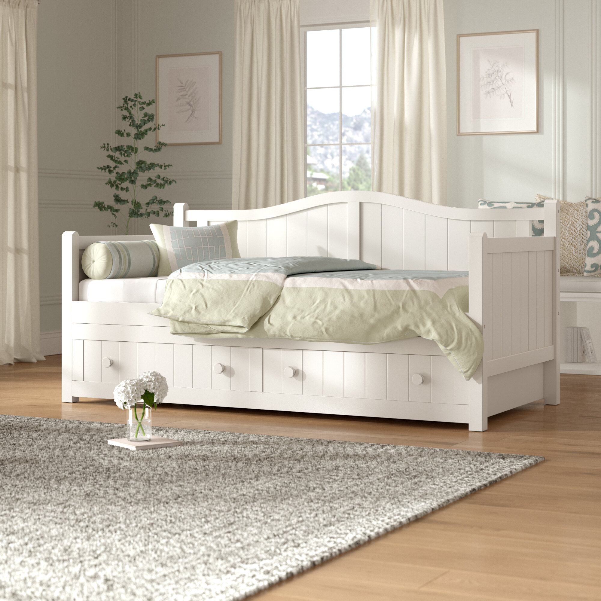 - Birch Lane™ Heritage Twin Daybed With Trundle & Reviews Wayfair