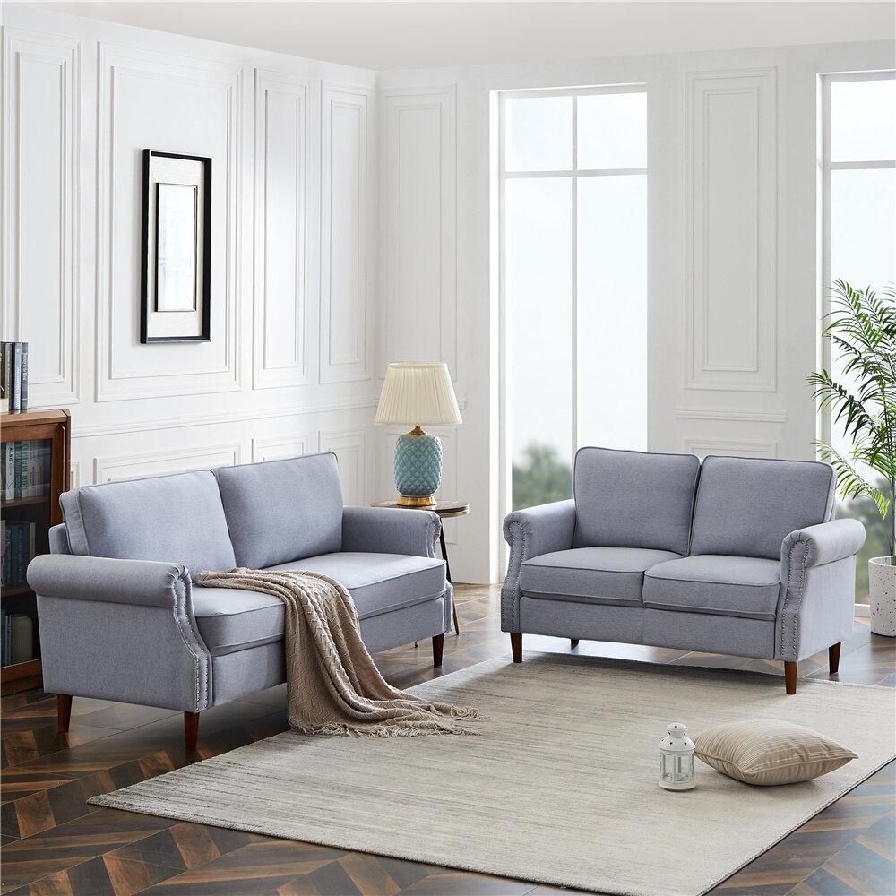 Red Barrel Studio Avienne 2 Piece Living Room Set Wayfair