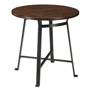 Brayden Studio Dube Round Pub Table
