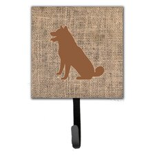 Shiba Inu Wall Hook by Caroline's Treasures