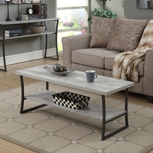 Lyon Coffee Table with Magazine Rack by Trent Austin Design