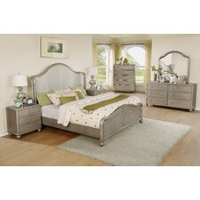 Aiden Panel 6 Piece Bedroom Set by Roundhill Furniture