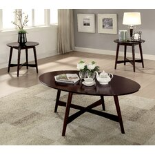Brashears Mid-Century Modern 3 Piece Coffee Table Set by Red Barrel Studio