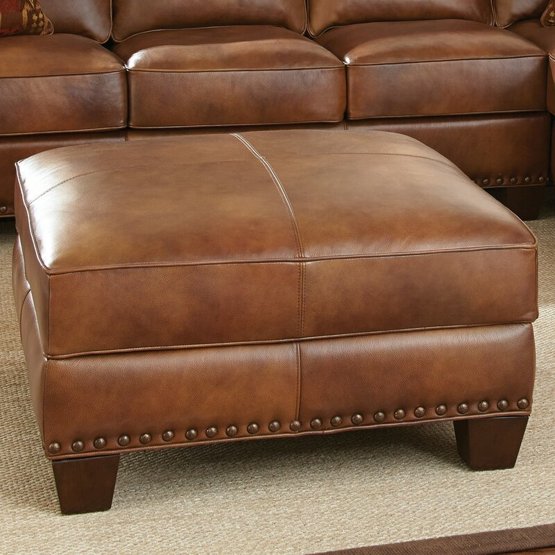 brown leather ottomans storage ottomans the best deals for sep default name - Brown Leather Ottoman
