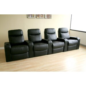 Baxton Studio Home Theater Row Seating (Row of 4) by Wholesale Interiors