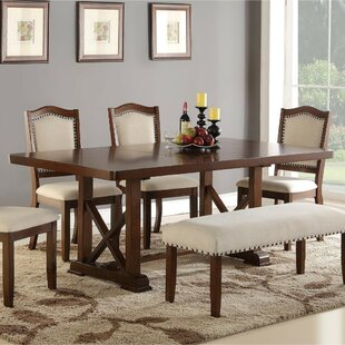 Mereworth Wooden Dining Table by Gracie Oaks
