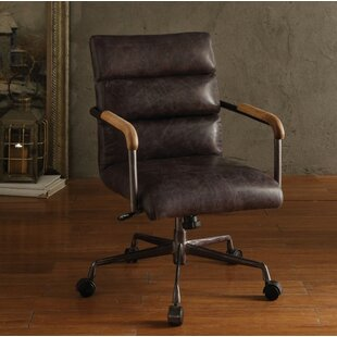 Best Price Linck Genuine Leather Executive Chair by 17 Stories Reviews (2019) & Buyer's Guide