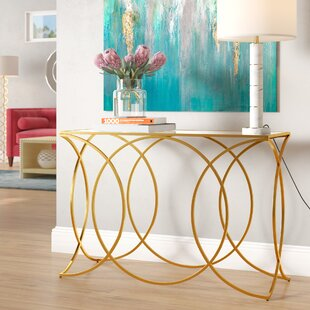Edgware Geometric Console Table