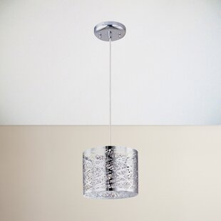 Zipcode Design Mica 1-Light Drum Pendant