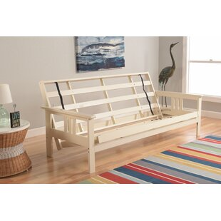 Comparison Leavittsburg Futon Frame by Red Barrel Studio Reviews (2019) & Buyer's Guide