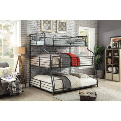 Viv Rae Valerie Full Over Full Bunk Bed Reviews Wayfair