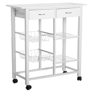 Sarno Kitchen Trolley With Manufactured Wood By Mercury Row