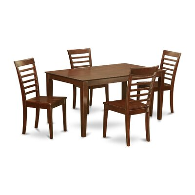Smyrna 5 Piece Dining Set Charlton Home