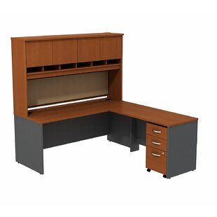 Bush Business Furniture Series C L Shaped Desk Office Suite