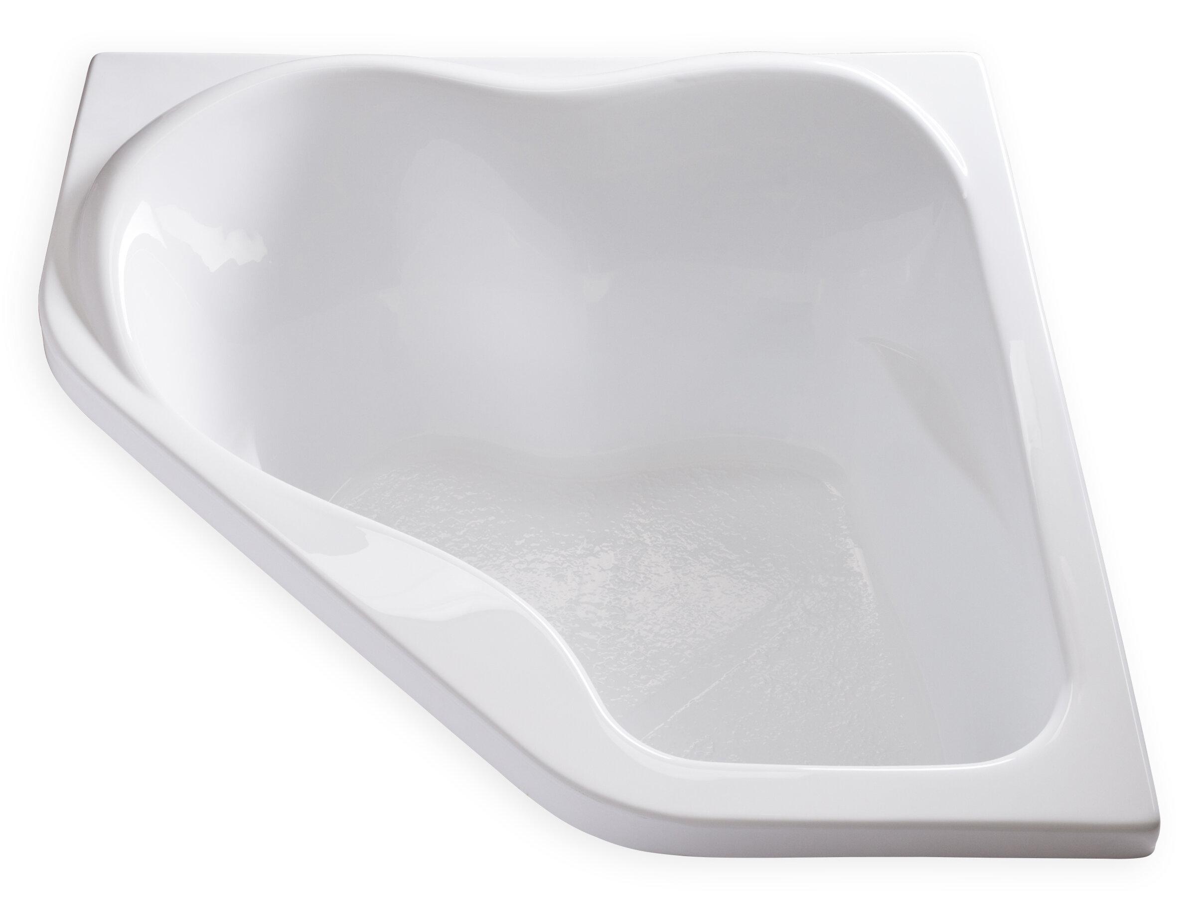 Acrylic Carver Tubs Rockefeller 69″ Freestanding Soaking Tub White
