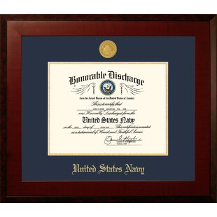 Navy Discharge Honors Picture Frame By Patriot Frames