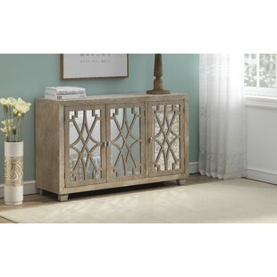 Aureliana 3 Door Credenza by Bungalow Rose