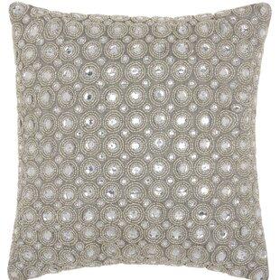 Azu Beads Throw Pillow