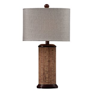 Shopping for Voyage Cork and Resin 21 Table Lamp By Elk Lighting