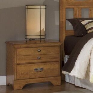 Carolina Furniture Works, Inc. Creek Side 2 Drawer Nightstand